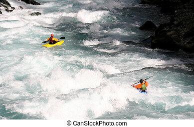 Pair of Kayaks - two kayaks