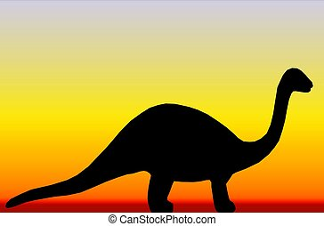 Dinosaur - Illustration of a dinosaur