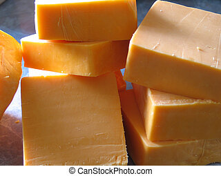 blocks of cheddar - blocks of sharp cheddar cheese
