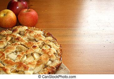 Homemade Apple Pie - Freshly baked apple pie
