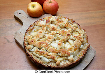 Homemade Apple Pie - Freshly baked apple pie