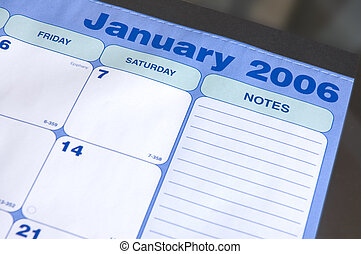 January 2006 Calendar - Desktop Calendar For January 2006