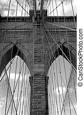 Brooklyn Bridge - Famous New York landmark