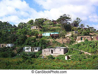 shanty town - township in South Africa