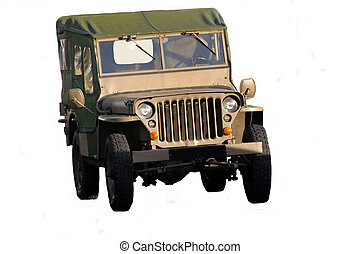 WW2 Jeep - Very old WW2 Jeep
