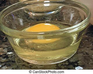 One whole egg