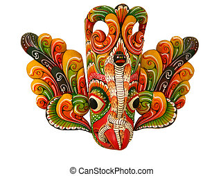 Flower Bird Devil - The Sri Lankan Flower Bird Devil (Mal...
