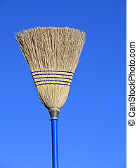 Sky Broom - Broom isolated against the sky