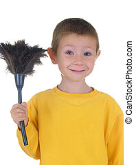 Dust It Off - By with a feather duster
