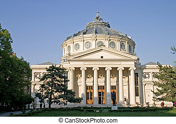 Atheneum - Bucharest landmark building