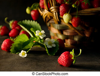 Strawberries (2) - Ftesh strawberries
