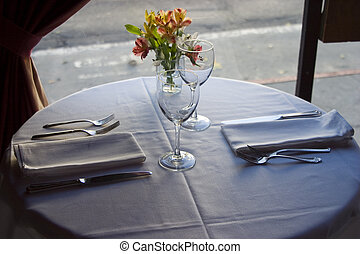 Table Setting 4 - A nice semi-formal table setting.