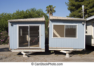 Trailer Trash #2 - A split in half mobile home.