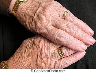 hands - old hands