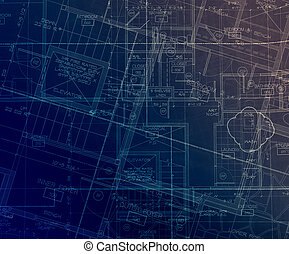 archecture plans  abstract