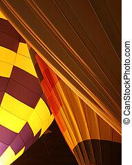 Hot air baloons 2 - Desert glow hot air baloons at night