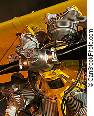 Radial - Spinner of radial aircraft engine