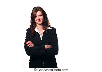 Business Woman - An attractive Business Woman