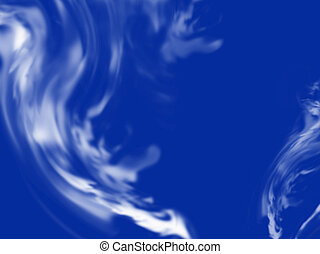 abstract blue smoke - blue smoke