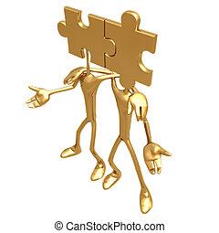 Puzzle 04 - Concept Presentation Figure 3D