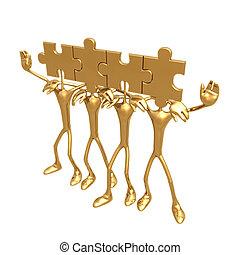 Puzzle 06 - Concept & Presentation Figure 3D