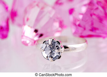 Diamond Ring - Photo of a Diamond Ring