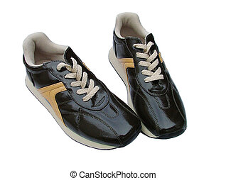 sports shoes - brown sports shoes