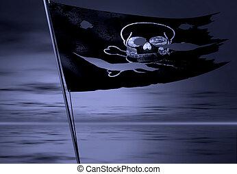 海盜, 旗