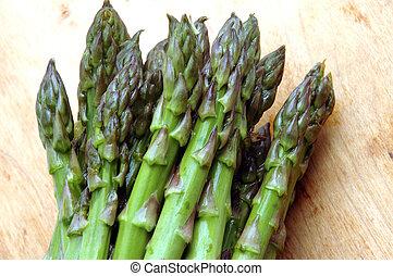 green asparagus fresh