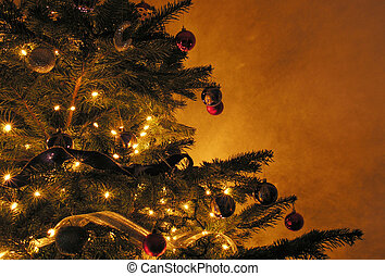 Christmas tree - Olde world style Christmas tree