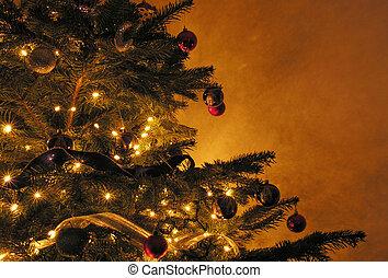 boże narodzenie, drzewo