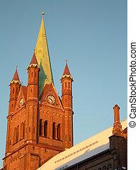 """Grønland kirke - The church \""""Grønland \"""" in Oslo."""
