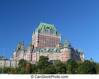 quebec landmark - chateau frontenac quebec landmark