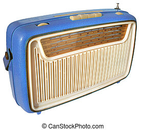 1960s radio (blue) - Funky set from the early Swinging...