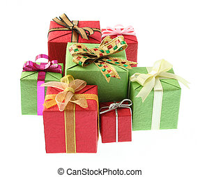 gifts isolated
