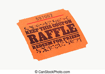 Raffle Ticket - Isolated Raffle Ticket