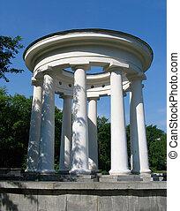 Rotunda. Russia.  Ekaterinburg