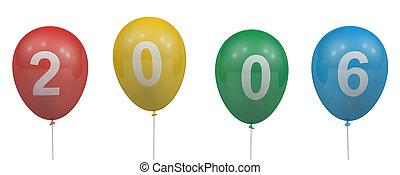 2006, balões