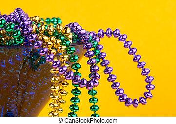 Fotos y videos del famoso Mardi Gras celebrado en