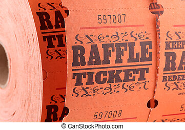 Raffle Ticket - Spool of Raffle Tickets
