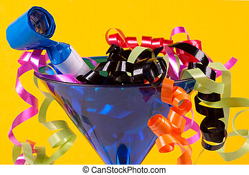 Celebrate - Glass With Party Decorations