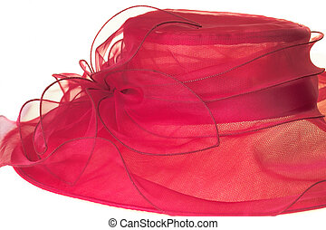 Red hat - red hat on the white background