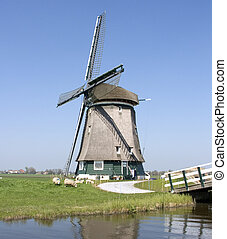 windmill - dutch windmill