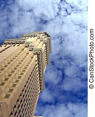 Old Style Highrise - -- a 50 storey building in Kaohsiung,...