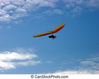 Hang glider 4 - Hang gliding