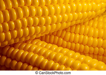 Corncobs. Background.