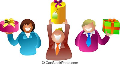 gift people - icon people