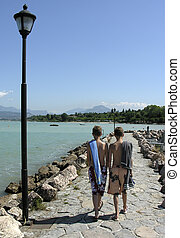 lightpost - gardalake Itlay