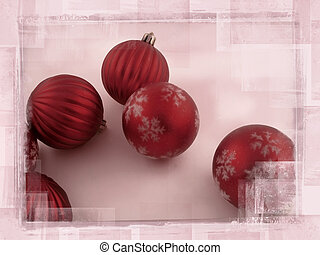 Degraded Christmas Balls
