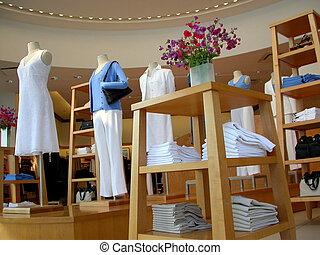 ropa, Tienda